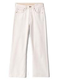 RAG & BONE Maya High Waisted Slim Fit Cropped Jeans - Ecru