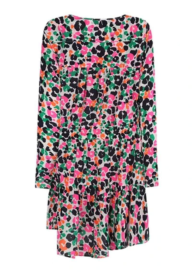Mercy Delta Langham silk dress - Leopardess Diva main image