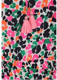 Mercy Delta Langham silk dress - Leopardess Diva