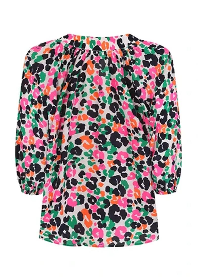 Mercy Delta Clevedon Silk Blouse - Leopardess Diva main image