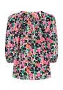 Clevedon Silk Blouse - Leopardess Diva additional image
