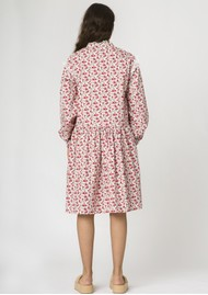 RESUME Elena Cotton Floral Dress -Red