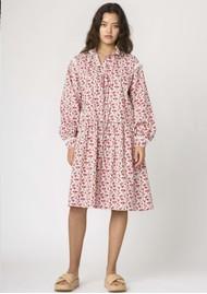 RESUME Elena Cotton Floral Dress -Red