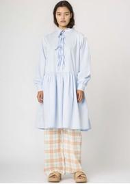 RESUME Elena Cotton Dress - Light Blue