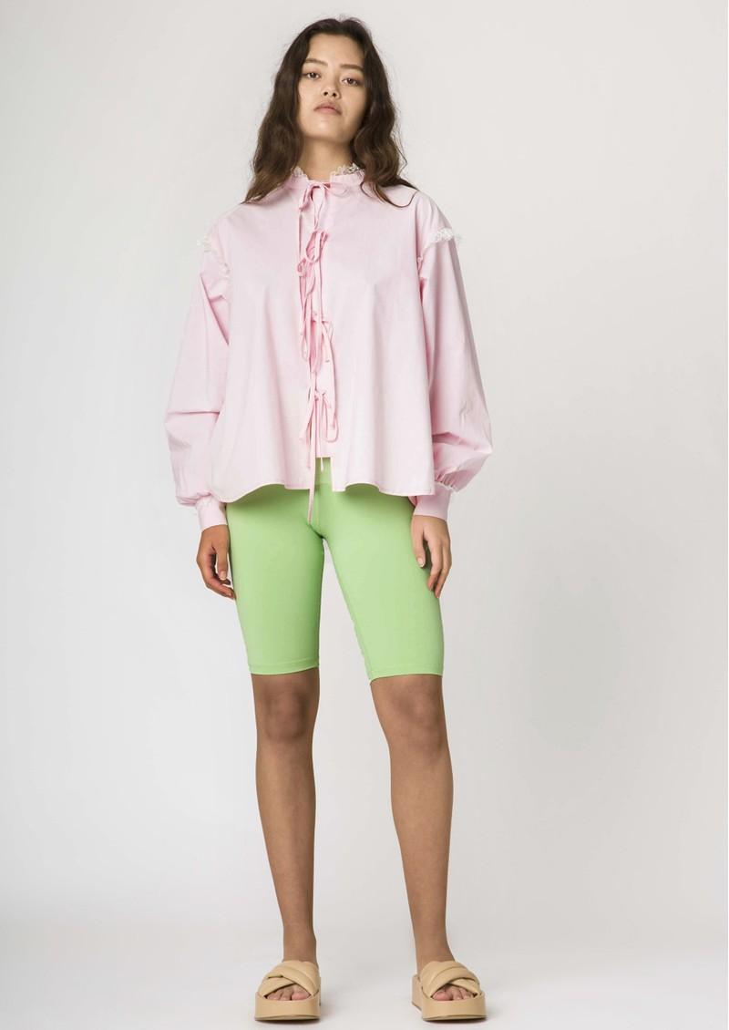 RESUME Edith Cotton Shirt - Pink  main image