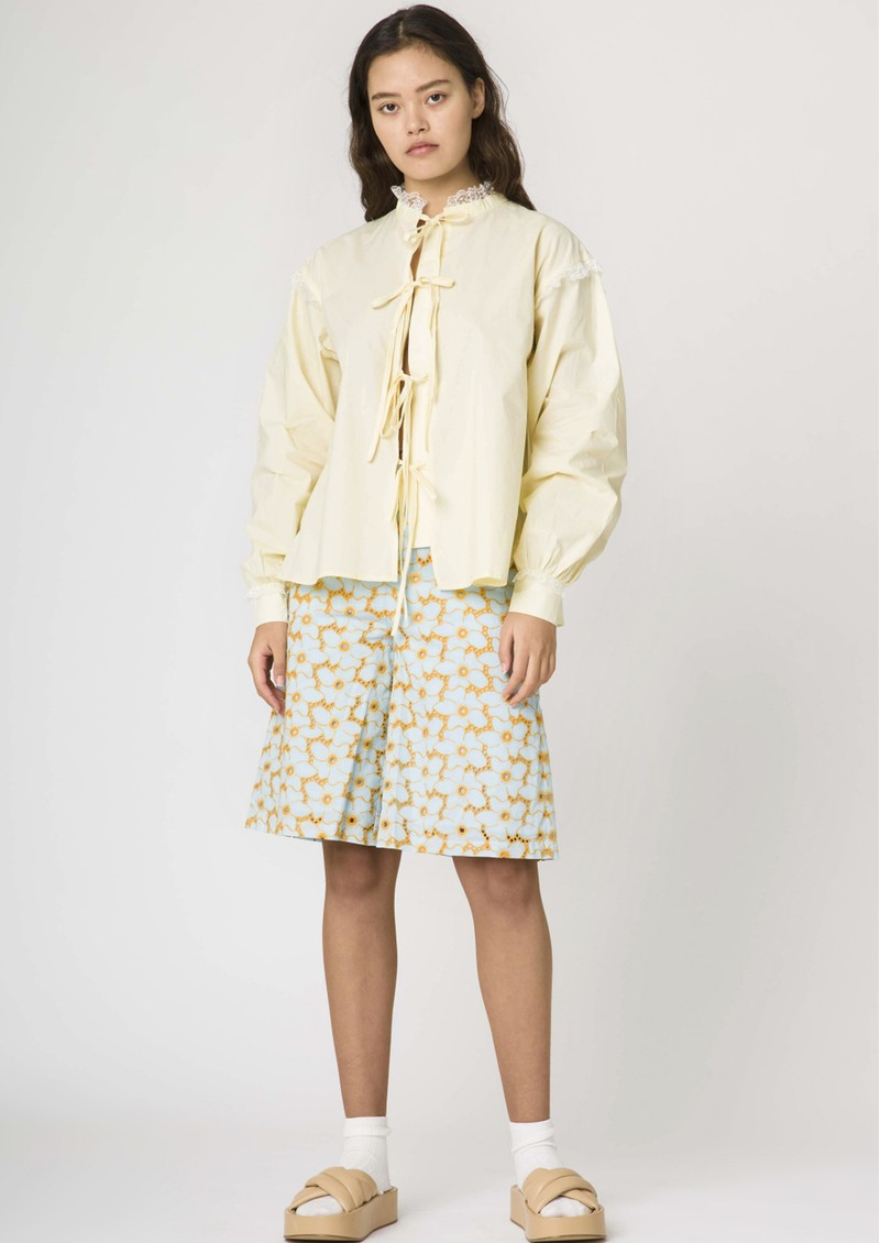 RESUME Edith Cotton Shirt - Sunshine main image