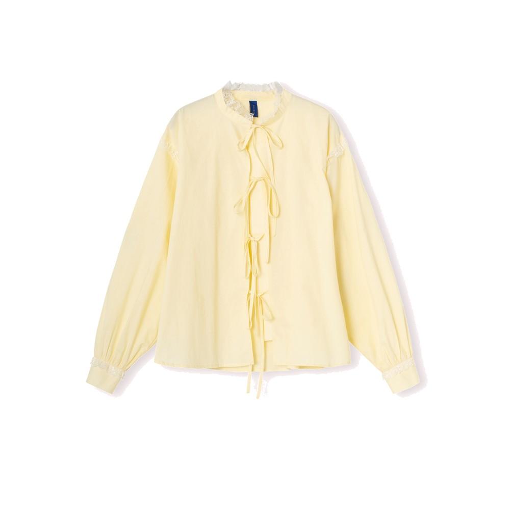 Edith Cotton Shirt - Sunshine