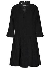DEA KUDIBAL Vilda NS Broderie Anglaise Dress - Black