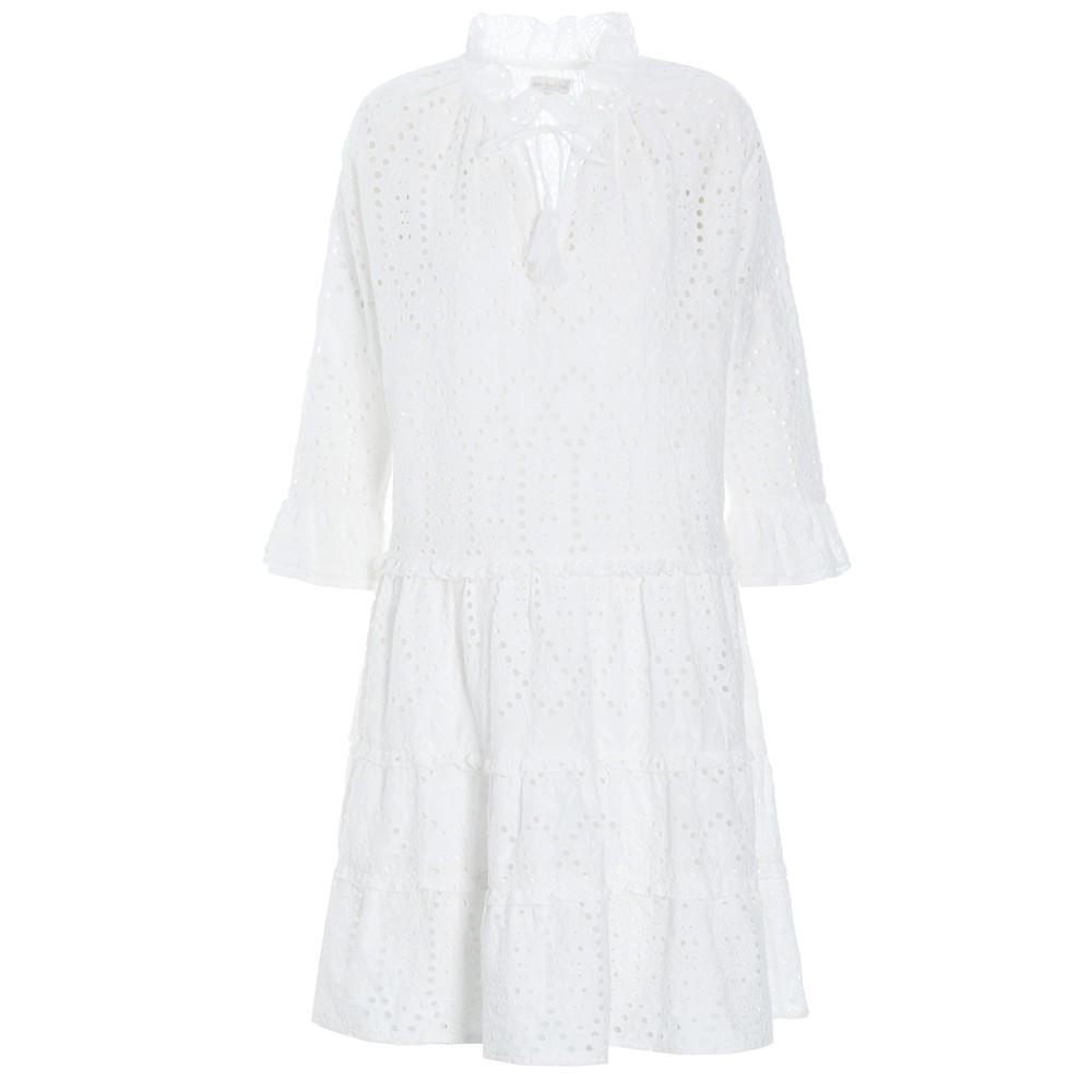 Vilda NS Broderie Anglaise Dress - White