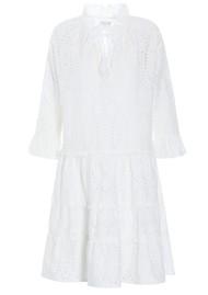 DEA KUDIBAL Vilda NS Broderie Anglaise Dress - White