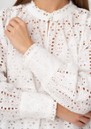 Beatrice NS Broderie Anglaise Tunic - White additional image