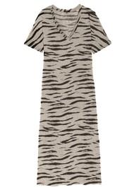 Rails Ren Cotton Dress - Beige Tiger
