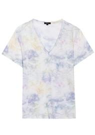 Rails Cara Cotton Tee - Rainbow Tie Dye