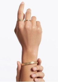 ANNA BECK Scalloped Cuff - Gold