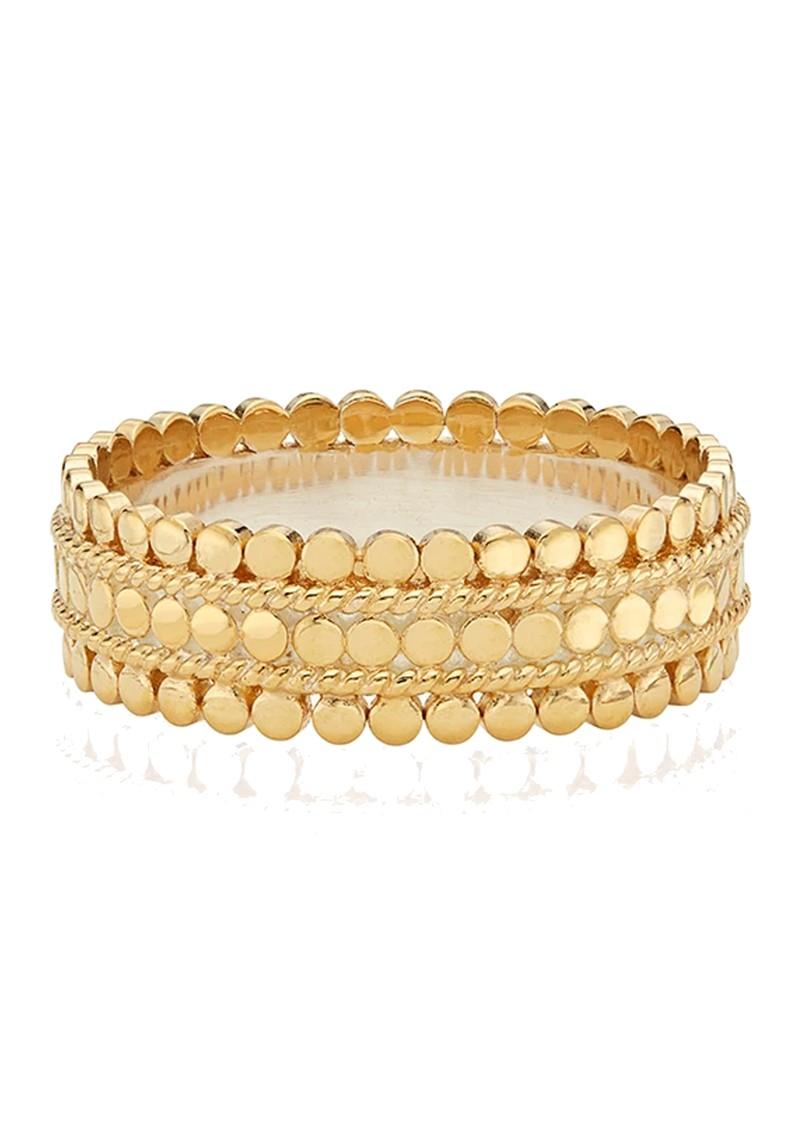ANNA BECK Scalloped Band Ring - Gold main image