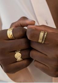 ANNA BECK Scalloped Band Ring - Gold
