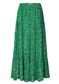 LOLLYS LAUNDRY Bonny Maxi Skirt - Dark Green