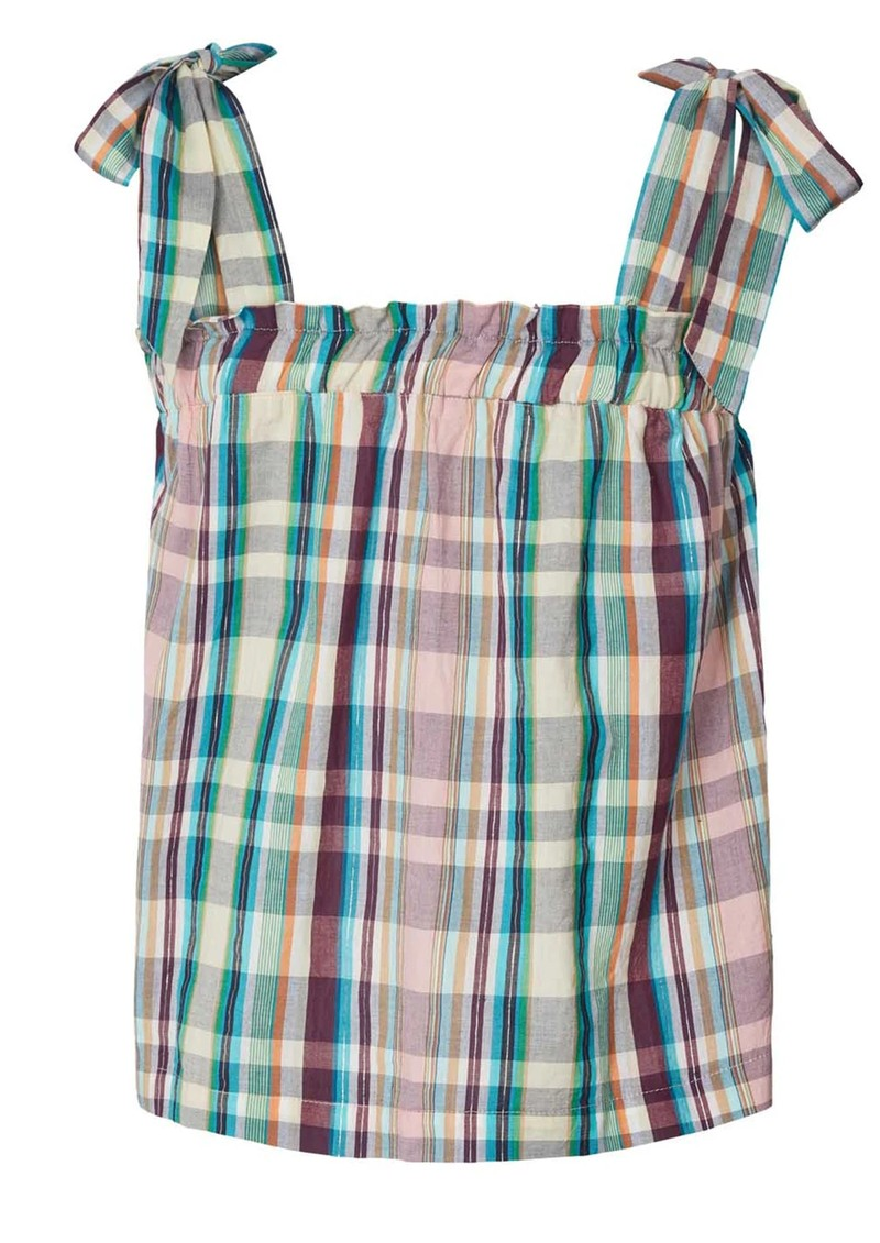 LOLLYS LAUNDRY Anne Top - Check main image