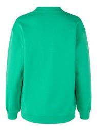 BAUM UND PFERDGARTEN Jimi Organic Cotton Sweater - Gumdrop Green