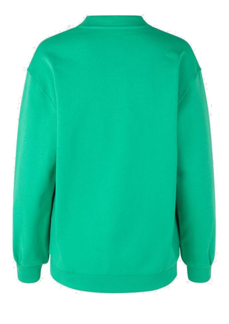 BAUM UND PFERDGARTEN Jimi Organic Cotton Sweater - Gumdrop Green main image