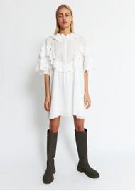 STELLA NOVA Betsy Organic Cotton Dress - White