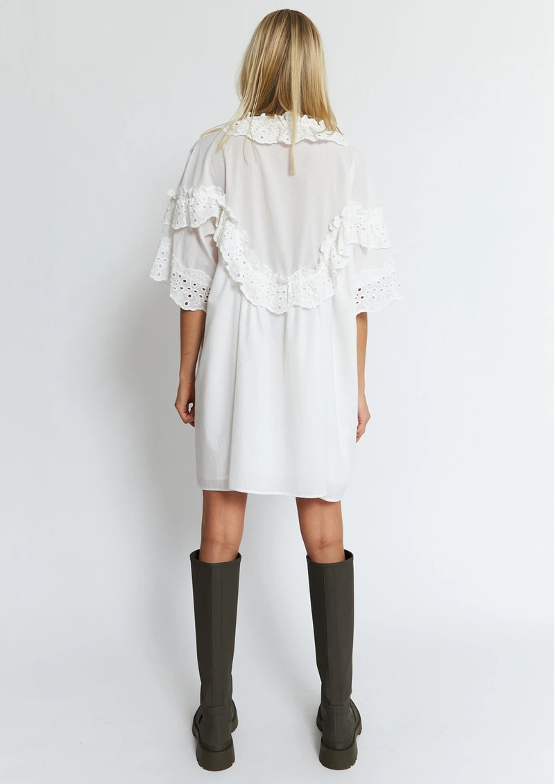 STELLA NOVA Betsy Organic Cotton Dress - White main image