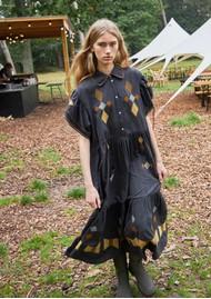 STELLA NOVA Ranya Cotton Dress - Dark Natural