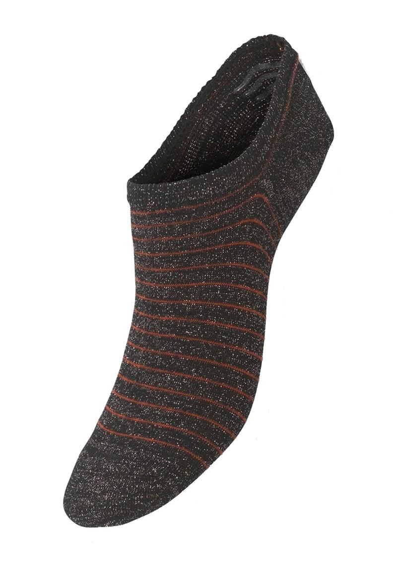 Becksondergaard Sneakie Stripe Trainer Socks - Night Sky main image