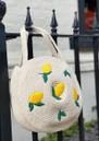 Summer Circular Basket Bag - Cream & Pistachio additional image