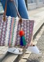 Cassia Embroidered Tote Bag - Ecru & Multi additional image