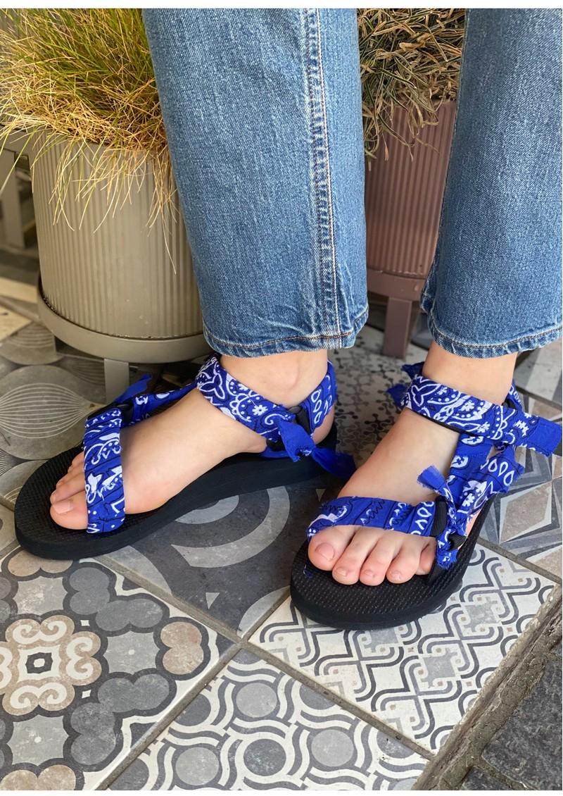 ARIZONA LOVE Trekky Sandals - Bandana Cerulean main image