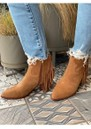 Hysteria Suede Fringe Boot - New Cinnamon additional image