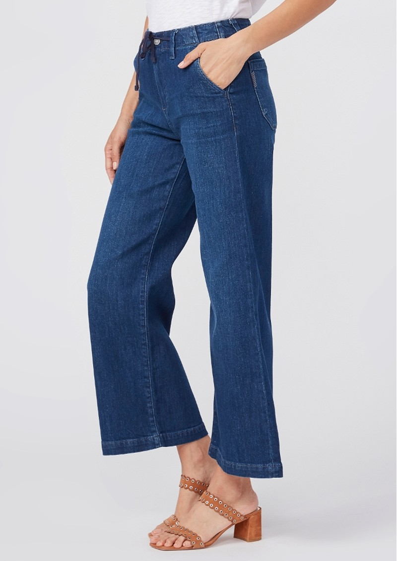 Paige Denim Carly High Rise Wide Leg Pant - Roya main image