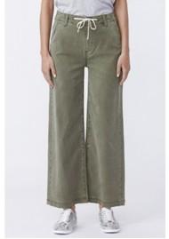 Paige Denim Carly High Rise Wide Leg Pant - Vintage Ivy Green