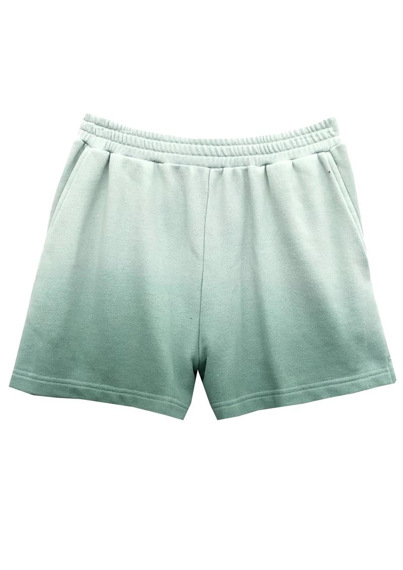 Rails Jane Cotton Shorts - Aqua Dip Dye main image