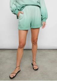 Rails Jane Cotton Shorts - Aqua Dip Dye