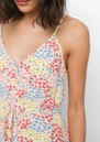 Frida Linen Mix Dress - Flower Meadow additional image