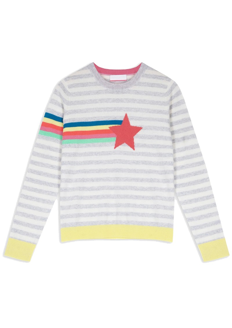 COCOA CASHMERE Bay Star Lightweight Cashmere Jumper - Cloud main image