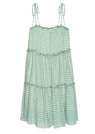 Rails Caralyn Linen Mix Dress - Basil Gingham