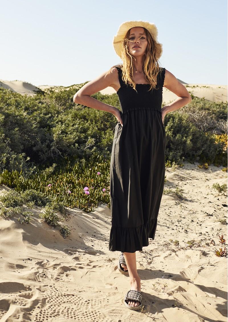 Rails Rumi Cotton Mix Dress - Black main image