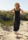 Rumi Cotton Mix Dress - Black additional image