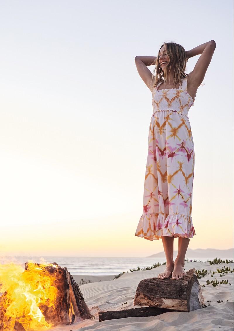 Rails Rumi Cotton Mix Dress - Diamond Tie Dye main image