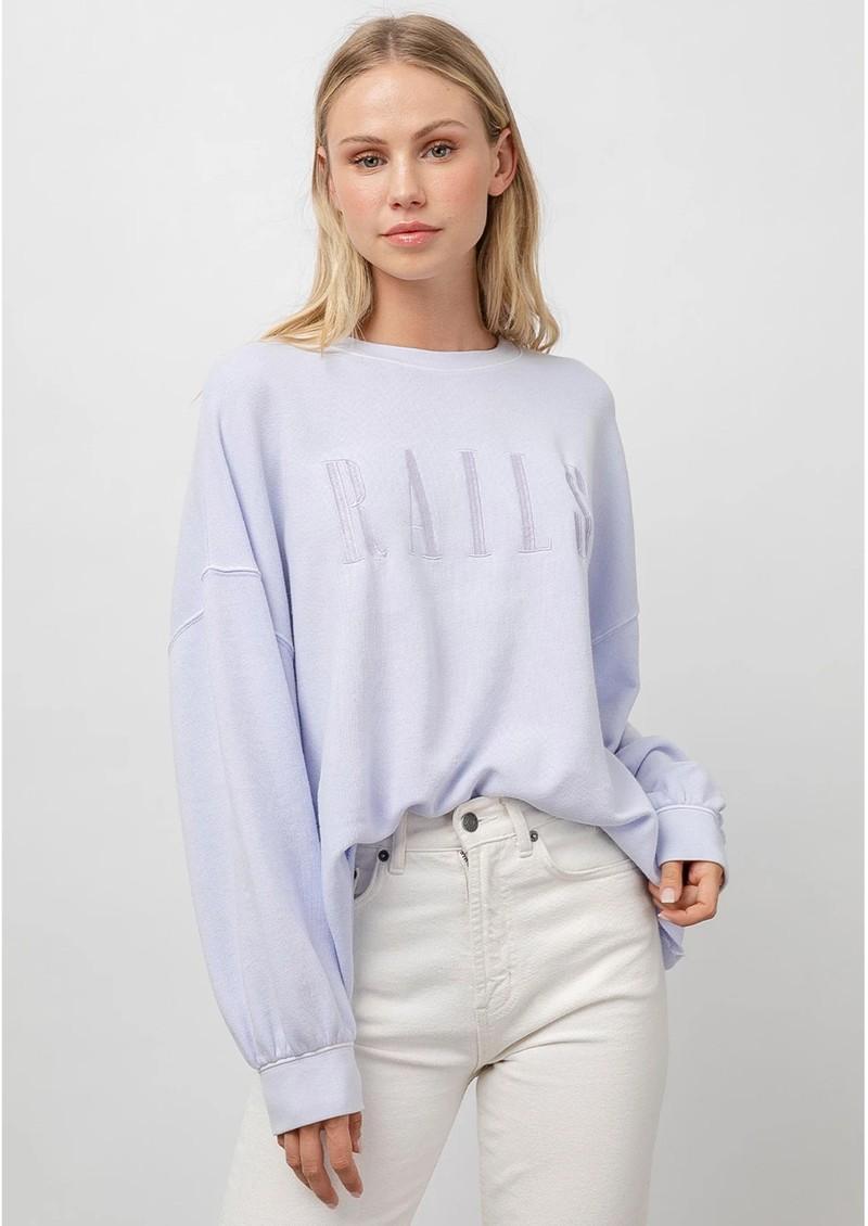 Rails Rails Signature Sweatshirt - Lavender main image