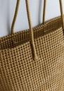 Torba Oversized Basket Bag - Matt Gold additional image