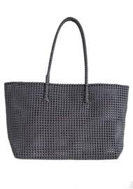 HAMMAMHAVLU Torba Oversized Basket Bag - Black