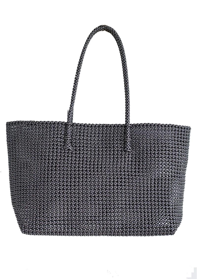 HAMMAMHAVLU Torba Oversized Basket Bag - Black main image