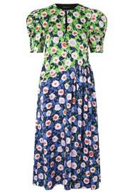 STINE GOYA Kori Floral Midi Dress - Flowermarket