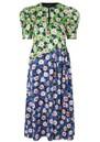 Kori Floral Midi Dress - Flowermarket additional image