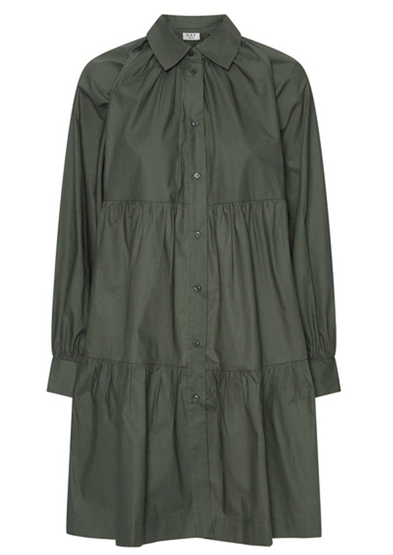 Day Birger et Mikkelsen Day Crisp Cotton Dress - Urban  main image