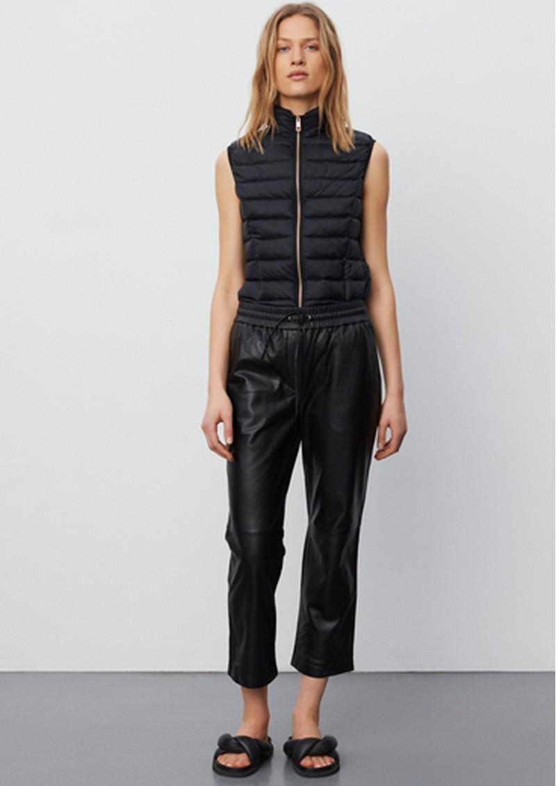 Day Birger et Mikkelsen Day Skin Leather Trouser - Jet Black main image